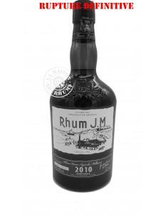 Rhum JM Vieux 2010 Brut de...