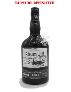Rhum JM Vieux 2003 Brut de...