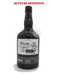 Rhum JM Vieux 2002 Brut de...