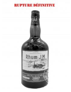 Rhum JM Vieux 2007 Brut de...