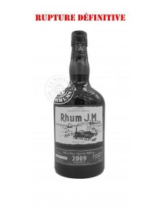 Rhum JM Vieux 2009 Brut de...