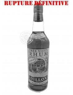 Rhum Dillon Très Vieux 1974